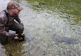 Thanks - New Zealand Fly Fishing Guide, Tony Entwistle.