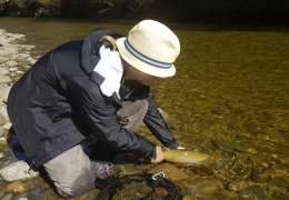 Caught and Released with New Zealand Fly Fishing Guide, Tony Entwistle.