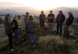 Saying goodbye to Pete Anderson_Mt Murchison