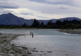 Salmon Fishing Rangitata Rv