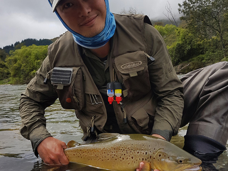 Nelson South Island Brown Trout Fly Fishing