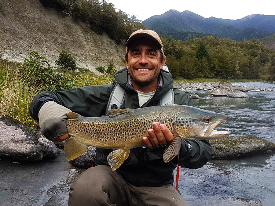 Wilderness Brown Trout Fly Fishing Nelson New Zealand