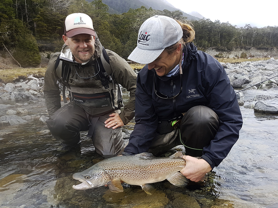 Superb New Zealand Brown Trout
