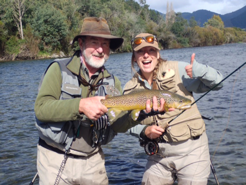 Fly Fishing Nelson District New Zealand