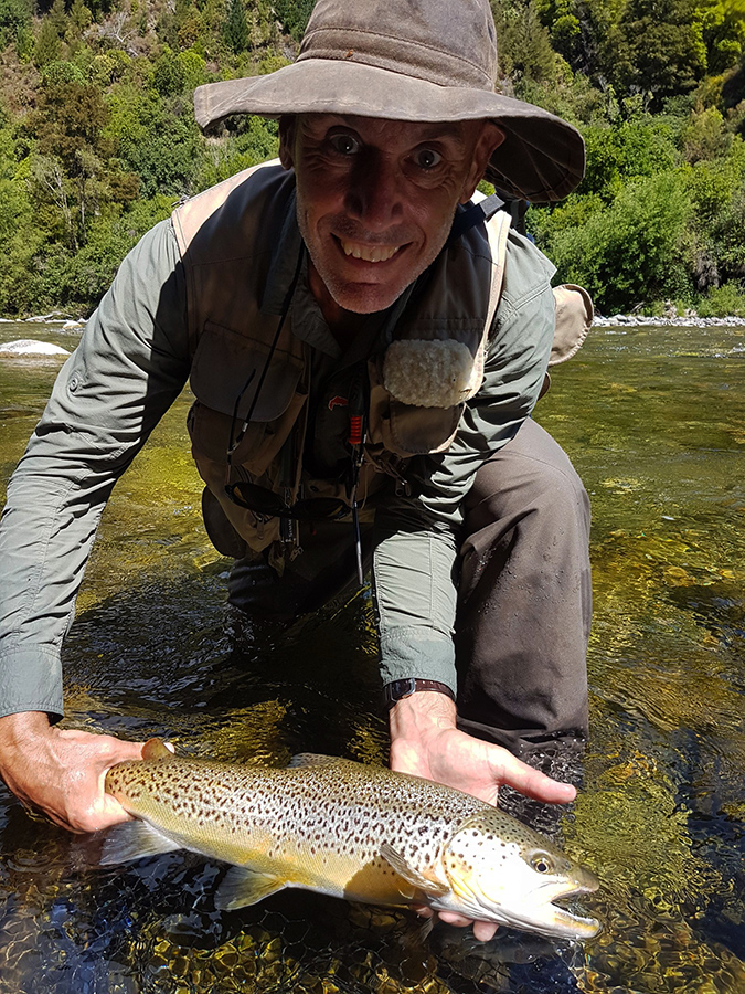 Brown Trout Fly Fishing New Zealand