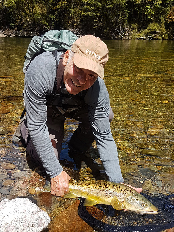 Backcountry Brown Trout Fly Fishing New Zealand