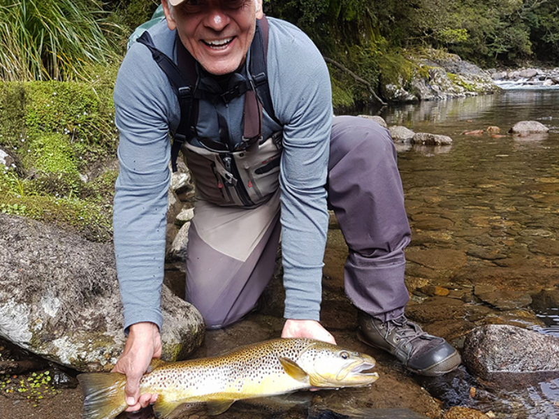 Backcountry Brown Trout