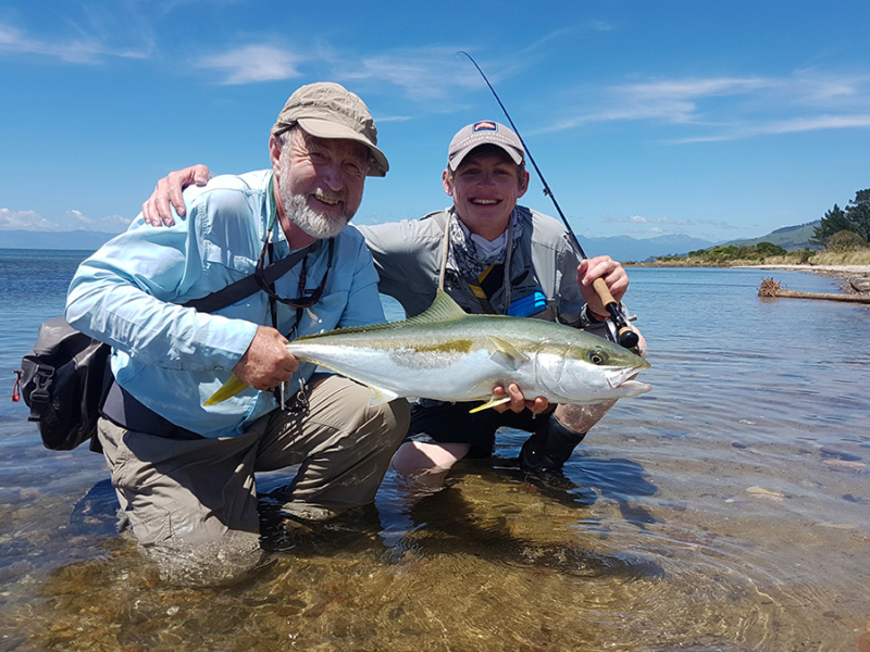 South Island New Zealand Saltwater Fly Fishing